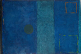 Patrick Heron: Blue Painting
