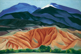 O'Keeffe: Black Mesa Landscape, New Mexico, Out Back of Marie's II