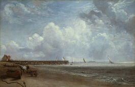 John Constable: Yarmouth Jetty