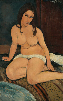 Modigliani: Seated Nude