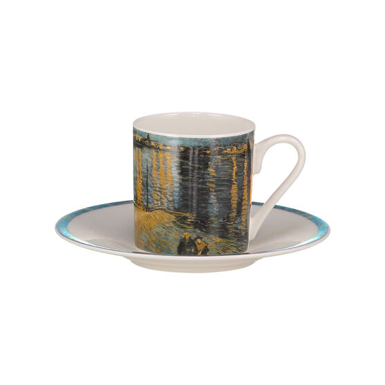 Starry Night over the Rhône espresso cup