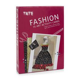 Fashion art activity cards
