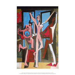 Picasso: The Three Dancers mini print