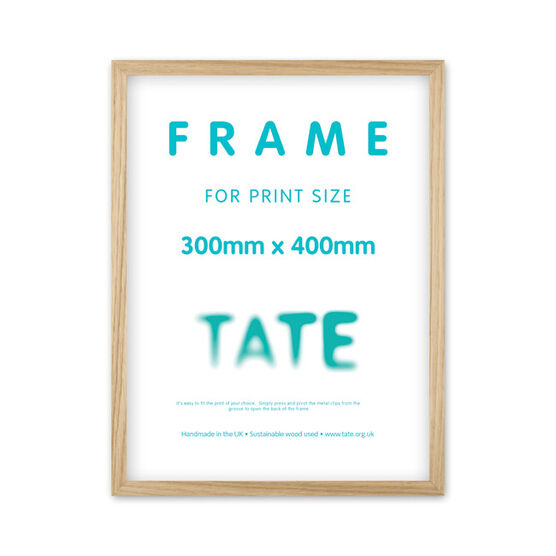30 x 40 natural ash frame