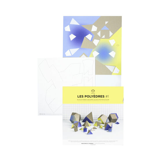 Polyhedrons shapes kit 1