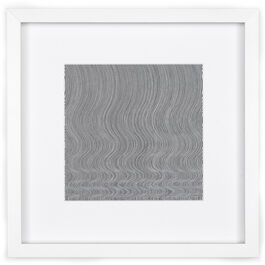 Bridget Riley Fall (framed print)
