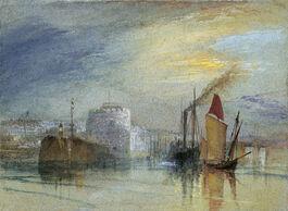 Turner: Le Havre, Tour de Francois 1er