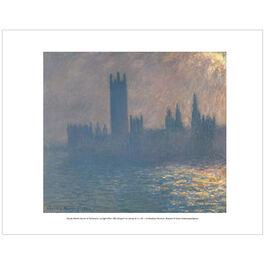 Monet Houses of Parliament, Sunlight Effect (mini print)