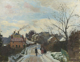 Pissarro: Fox Hill, Upper Norwood