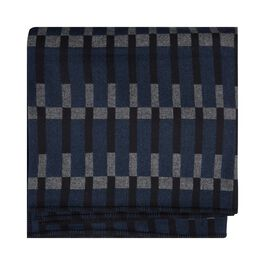 Eleanor Pritchard navy block blanket