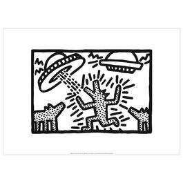 Keith Haring: Untitled exhibition poster