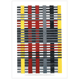 Anni Albers: Design for a 1926 unexecuted wallhanging poster