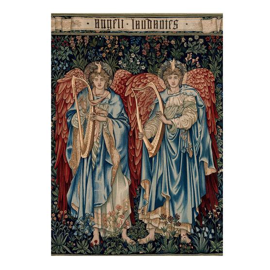 Edward Burne-Jones: Angeli Laudantes Christmas card (pack of 10)