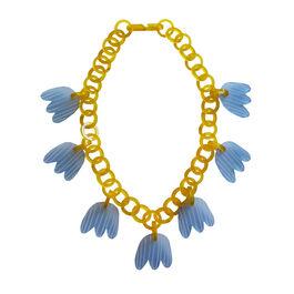 Tulip chain necklace