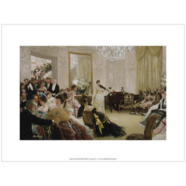 Tissot Hush! (exhibition print)