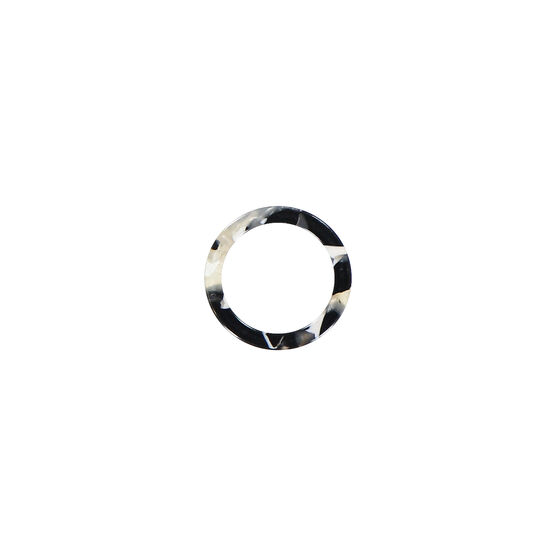Antwerp grey cellulose acetate ring