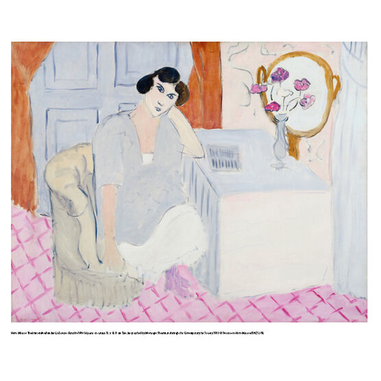 Matisse The Inattentive Reader (mini print)