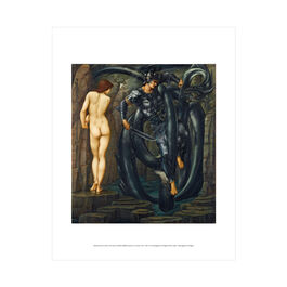 Edward Burne-Jones: The Doom Fulfilled mini print