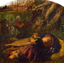 Hughes: The Woodman's Child