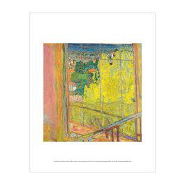 Pierre Bonnard: The Studio with Mimosa mini print