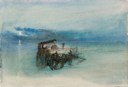 Turner: Fishermen on the Lagoon, Moonlight