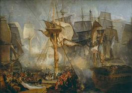 Turner: The Battle of Trafalgar