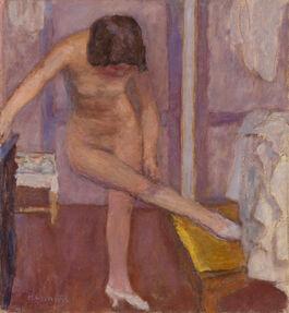 Pierre Bonnard: Nude Bending Down