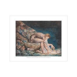 William Blake Newton mini print