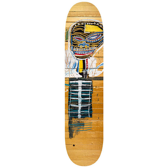 Basquiat: Gold Griot skateboard