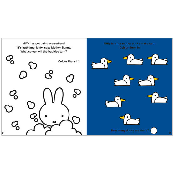 Miffy the Artist: Art Activity Book