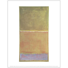 Mark Rothko Untitled c.1950-2 (mini print)