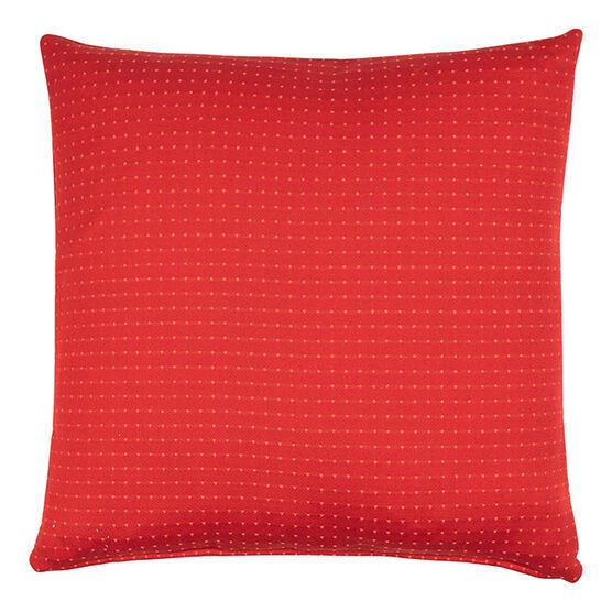 Puntino red cushion