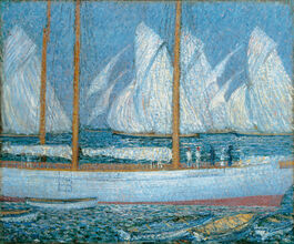 Philip Wilson Steer: A Procession of Yachts