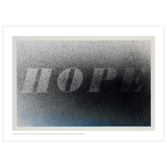Ed Ruscha: HOPE poster