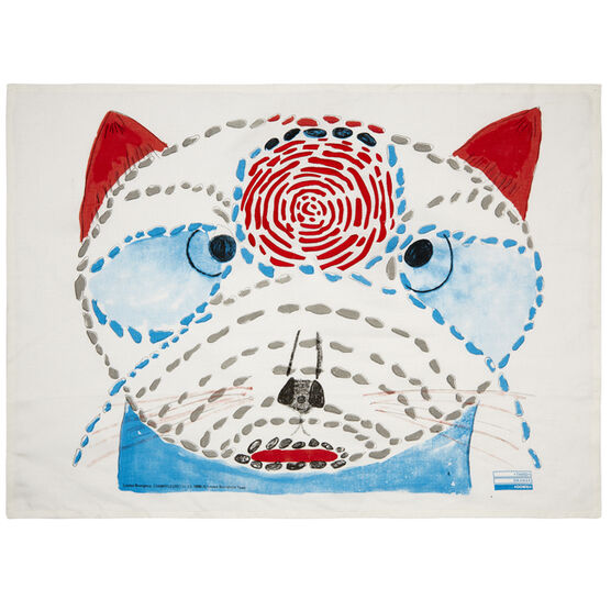 Louise Bourgeois cat tea towel