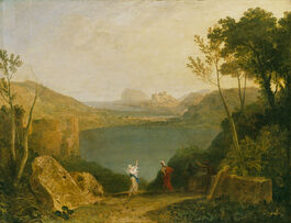 Turner: Aeneas and the Sibyl, Lake Avernus