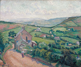 Lucien Pissarro: High View, Fish Pond