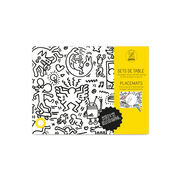 Keith Haring colouring placemats