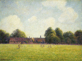 Pissarro: Hampton Court Green