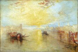 Turner: San Benedetto, Looking towards Fusina