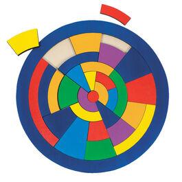 Colour wheel, puzzle game