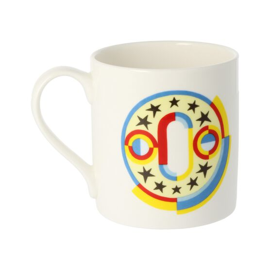 Alphabet of art mug - O