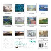 Tate British Landscapes 2022 wall calendar