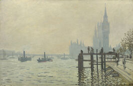Monet: The Thames Below Westminster
