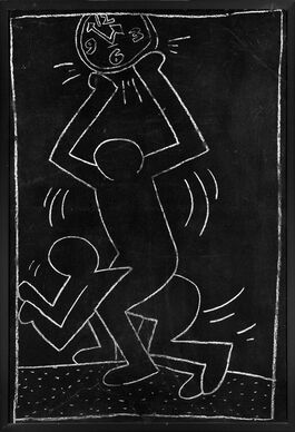 Keith Haring: Untitled Subway Drawing 12