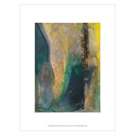 Frank Bowling: Ah Susan Woosh exhibition print