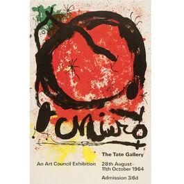 Joan Miró: 1964 vintage poster
