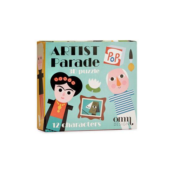 Artist parade 3D puzzle