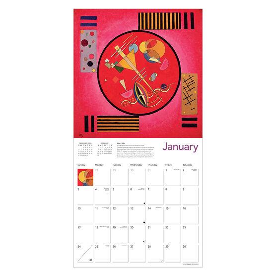 Wassily Kandinsky 2021 calendar