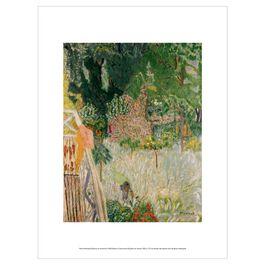 Pierre Bonnard: Balcony at Vernonnet exhibition print